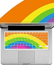 XSKN tastiera arcobaleno in silicone coperchio di protezione per Apple MacBook Air / MacBook Pro / MacBook Pro retina