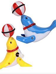 Недорогие -морской лев глава ветер игрушки (цвет случайный)