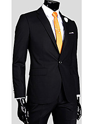 cheap -Classic & Timeless Blazer-Solid Color,Formal Style
