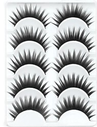 cheap -Eyelashes lash Eyelash Thick Natural Long Volumized Thick Fiber