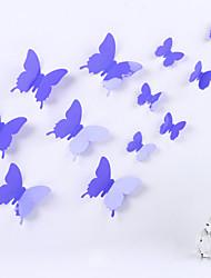 Animali Romanticismo 3D Adesivi murali Adesivi 3D da parete Adesivi decorativi da parete Adesivi per il frigorifero,Vinile Materiale