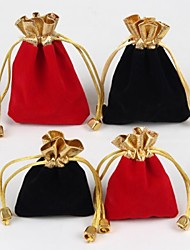 Jewelry Bags Fabric Black / Red