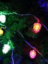 JIAWEN® 4M 20LEDs RGB LED Pine Cones  String Lights Christmas String Light For Decoration (AC 110-220V)