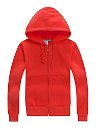 Dugi rukav - Čisto - Muška - Hoodies i sweatshirts - Dugi rukav ( Pamučne mješavine )