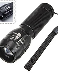 LED Flashlights/Torch Handheld Flashlights/Torch LED 500 Lumens 3 Mode Batteries not included Mini Adjustable Focus Nonslip grip