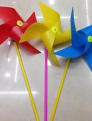 Недорогие -5шт 20см красочные четыре угла ветряная мельница детские игрушки