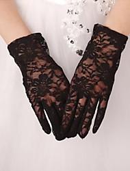 Blonde Håndledslængde Handske Brudehandsker Fest-/aftenhandsker