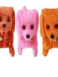Недорогие -электрическая плюшевая игрушка собака (цвет случайный)