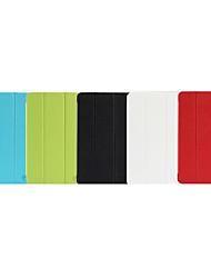 Capinha Para Capa de Corpo Inteiro Cases com Suporte Capa Proteção Completa Côr Sólida Rígida PU Leather para