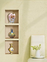 cheap -3D Lattice Vase Ceramic Wall Stickers Wall Decals