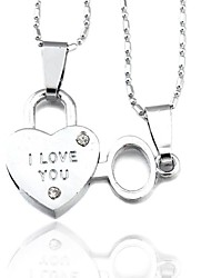 Silver Pendant Necklaces Alloy Party / Daily / Casual Jewelry