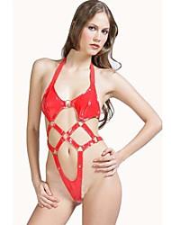 baratos -Mulheres Super Sensual Roupa de Noite Outros Vermelho