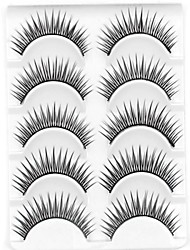 cheap -Eyelashes lash Eyelash Natural Long Volumized Natural Curly Fiber