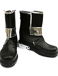 Cosplay Boots Sword Art Online Kirito Anime Cosplay Shoes PU Leather Male