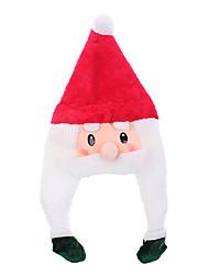 Недорогие -Красота мультфильм Санта-Клауса рождественские шляпа с оплеткой