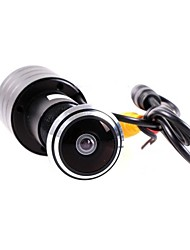 Mini Door View Video Camera 480TVL 1/3 CCD Door Mirror Color 1.7mm Lens Door Eye Hole Camera Fisheye Lens Camera