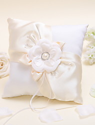 cheap -Satin Ring Pillow Floral Theme Classic Theme Winter Spring Summer Fall