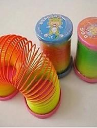 Недорогие -пластик радуга круг (цвет случайный)