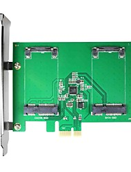 Недорогие -maiwo kcssd2 2 х 1,8 дюймовый msata PCI-E SSD msata для PCI-E карты