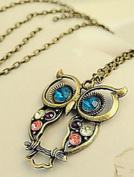 cheap -Women's Fashion Pendant Necklace Vintage Necklaces Zircon Alloy Pendant Necklace Vintage Necklaces , Daily