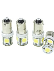 cheap -SO.K BA9S Car Light Bulbs 2.5W High Performance LED / SMD LED 160lm LED Exterior Lights