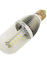 10W E26/E27 LED a pannocchia T 54 leds SMD 2835 Decorativo Bianco caldo Bianco 800-850lm 3000K DC 12V