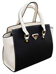 billige -weixiaohudie mode afslappet Batwing kontrast farve vintage håndtaske