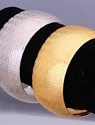 Недорогие -u7® горячей продажи г шаблон 18k реальное коренастый золото платина покрытием Браслет-манжета