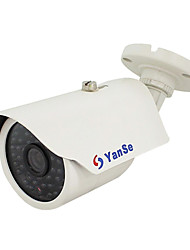 cheap -YanSe® 1000TVL 48-LED CCTV System IR Waterproof Camera - White YS-873CF