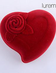Недорогие -Коробки для бижутерии - Мода Красный 5.5 cm 4 cm 4 cm / Жен.