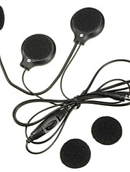 cheap -Mini 3.5mm Jack Motorcycle Microphone Speaker Helmet Headset