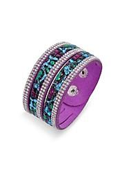 handmade braccialetto di velluto dell'involucro strass bling braccialetto di cuoio trivello caldo braccialetto