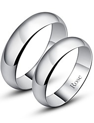 cheap -Women's Couple's Band Rings Fashion Silver Jewelry Daily