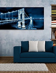 baratos -e-home® esticado levou efeito impressão da arte do flash ponte canvas liderada
