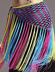 Dance Accessories Belt Women's Training Cotton Spandex Tassel(s) Dropped