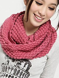 cheap -Women's Knitwear Casual Winter Yellow Pink Wine Dark Pink Watermelon