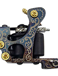 cheap -Coil Tattoo Machine Wire-cutting Liner and Shader Cast Iron Professional Tattoo Machine