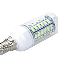 cheap -5W E14 LED Corn Lights T 56 SMD 5730 500-600lm Warm White Cold White 3000/6500K AC 220-240V 1pc