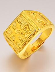 preiswerte -Herrn vergoldet Statement-Ring - Anderen Einzigartiges Design Modisch Für Hochzeit Party Alltag Normal Sport