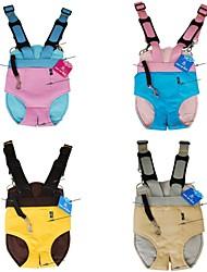 abordables -madre mochila de piel de canguro suave para perros y mascotas (colores surtidos y tamaños)