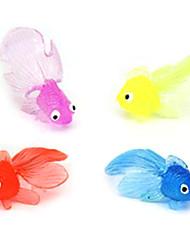 Недорогие -16 шт Горячая продажа красочные маленькие игрушки рыба воды (случайный цвет)