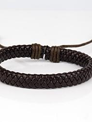Bracelets Vintage Bracelets en cuir Original bijoux de fantaisie Mode Cuir Tissu Bijoux Bijoux Pour Quotidien Décontracté Sports Regalos