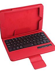 tanie -pu skórzane etui w / klawiatura Bluetooth dla iPad Mini 3 ipad mini 2 iPad Mini