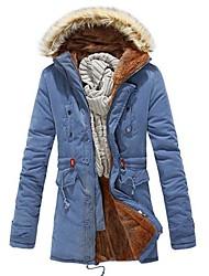 Недорогие -Мужская теплая хлопка пальто