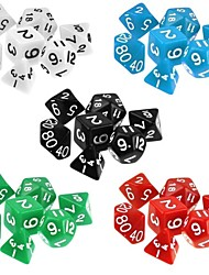 cheap -Dungeons and Dragons Game 15-20MM D4 D6 D8 D10 D12 D20 Dice (7 PCS / Set)