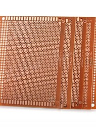 cheap -Universal DIY 7 x 9cm Bakelite PCB Circuit Board - Golden (5pcs)