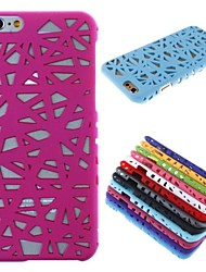 Bird's Nest Hollow Out Design PC Hard Case for  iPhone 6 (Assorted Colors)