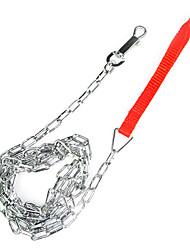 Недорогие -Коди Железная цепь поводки для домашних животных собак