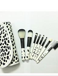 8 Stk. Brush Sets Nylon Børste Syntetisk Hår Andre Ansigt Læbe Øjne Andre