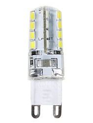 cheap -3W G9 LED Corn Lights T 32 SMD 2835 210 lm Natural White AC 220-240 V